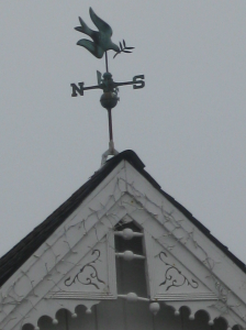 dove weather vane