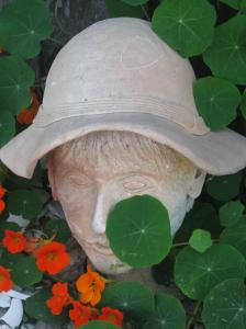 face:nasturtiums